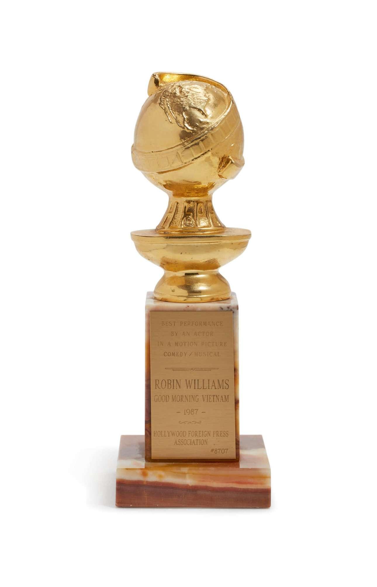 Η Χρυσή Σφαίρα που κέρδισε για την ερμηνεία του στη θρυλική ταινία «Καλημέρα Βιετνάμ», το 1988