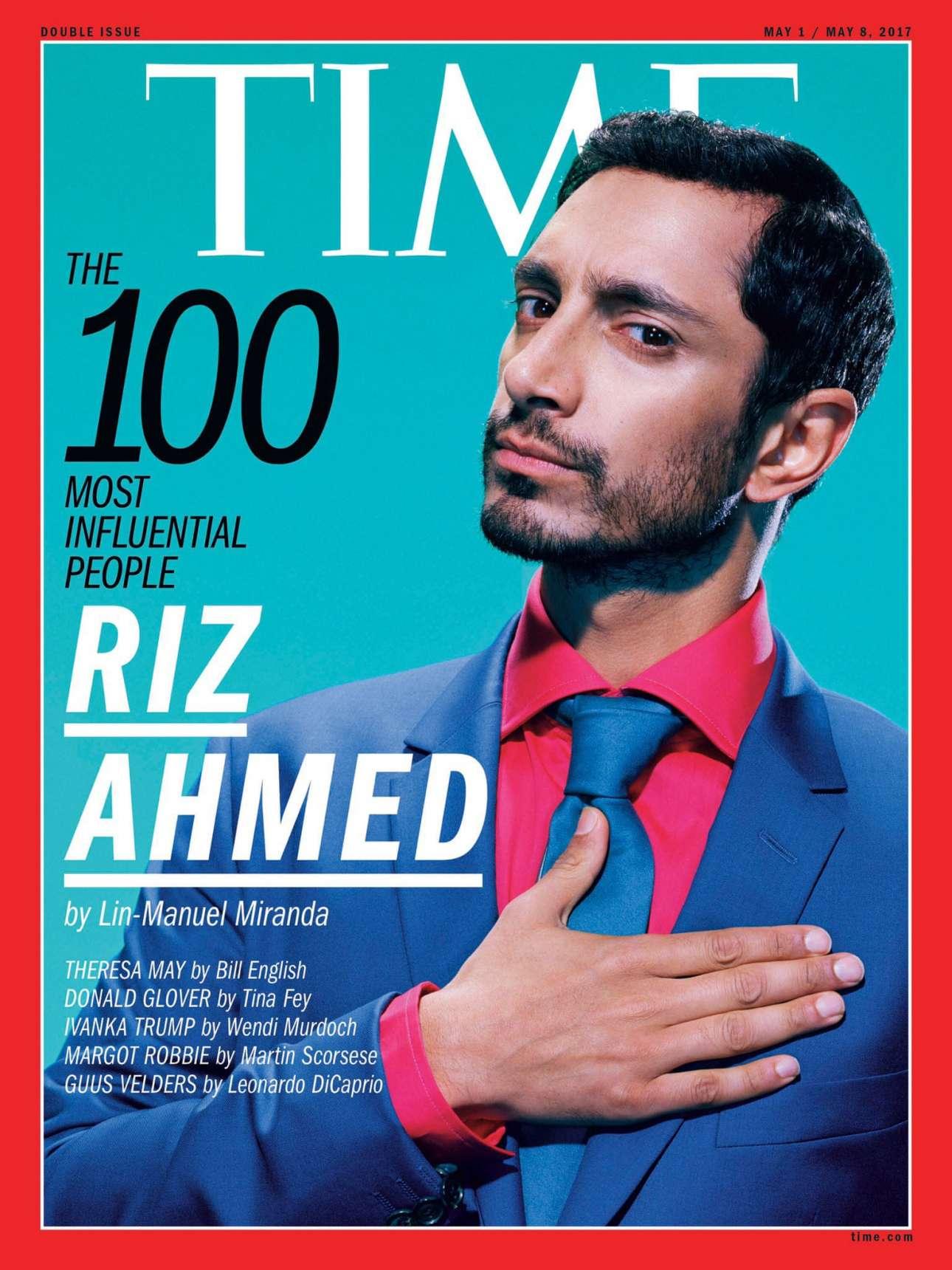 Τα τελευταία χρόνια το Time δίνει έμφαση στα πρόσωπα που επηρεάζουν τις κοινωνίες και τις ζωές μας, κατά κάποιο τρόπο τους influencer. Εδώ, σε ένα εξώφυλλο του 2017, ο ηθοποιός Ριζ Αχμέντ
