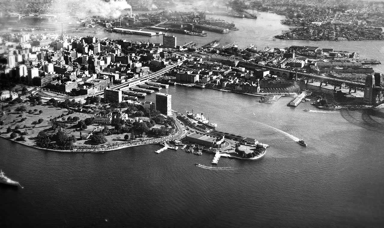 Το σημείο Μπένελονγκ στο λιμάνι του Σίδνεϊ, όπου χτίστηκε η όπερα