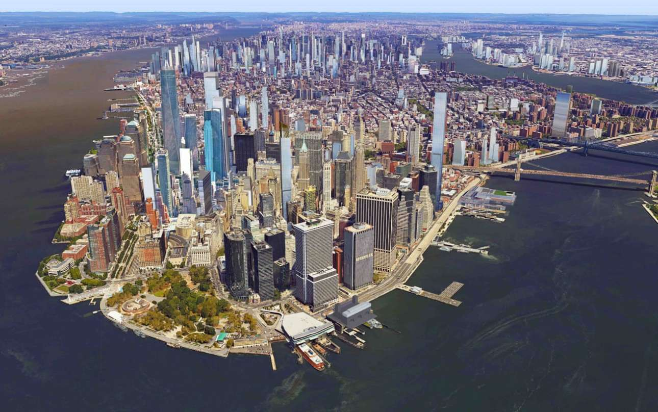 Ετσι μάλλον θα δείχνει το Μανχάταν στο μέλλον: θα είναι ένας τόπος με επιμήκεις λεπτούς ουρανοξύστες πολυτελών διαμερισμάτων