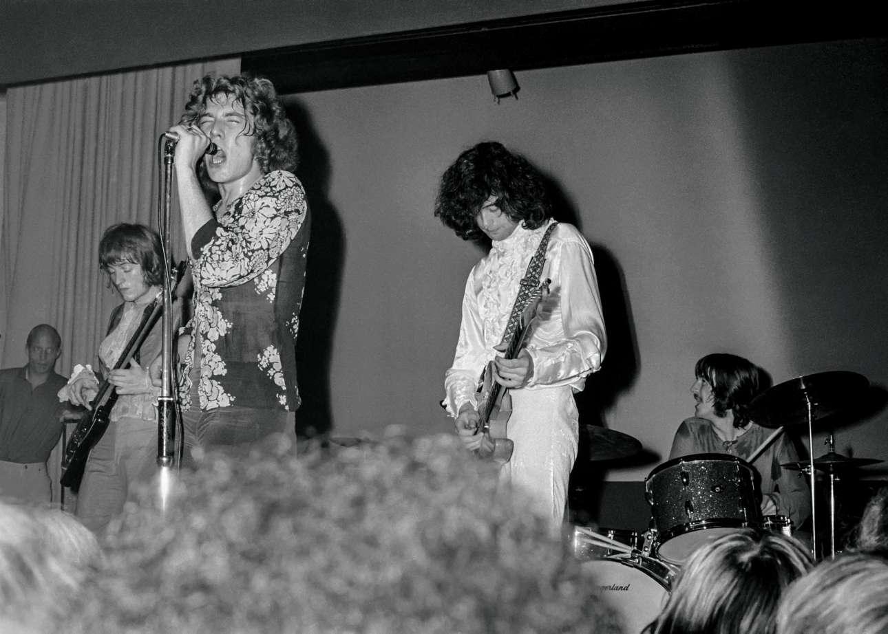 Η πρώτη εμφάνιση της βρετανικής μπάντας ως «The New Yardbirds» -πριν μετανομαστούν σε Led Zeppelin- στο κλαμπ Teen της Κοπεγχάγης, τον Σεπτέμβριο του 1968