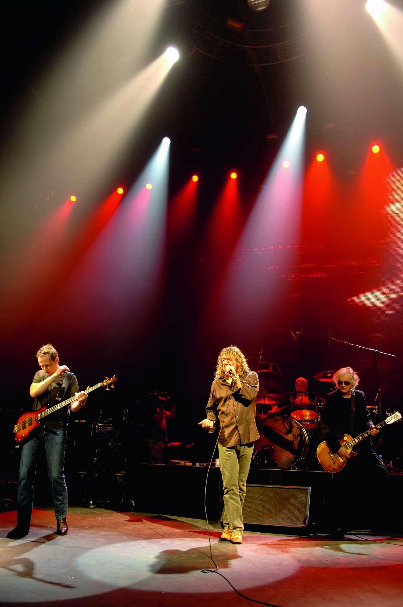 Ηχογράφηση του άλμπουμ «Shepperton Rehearsals», τον Δεκέμβριο του 2007