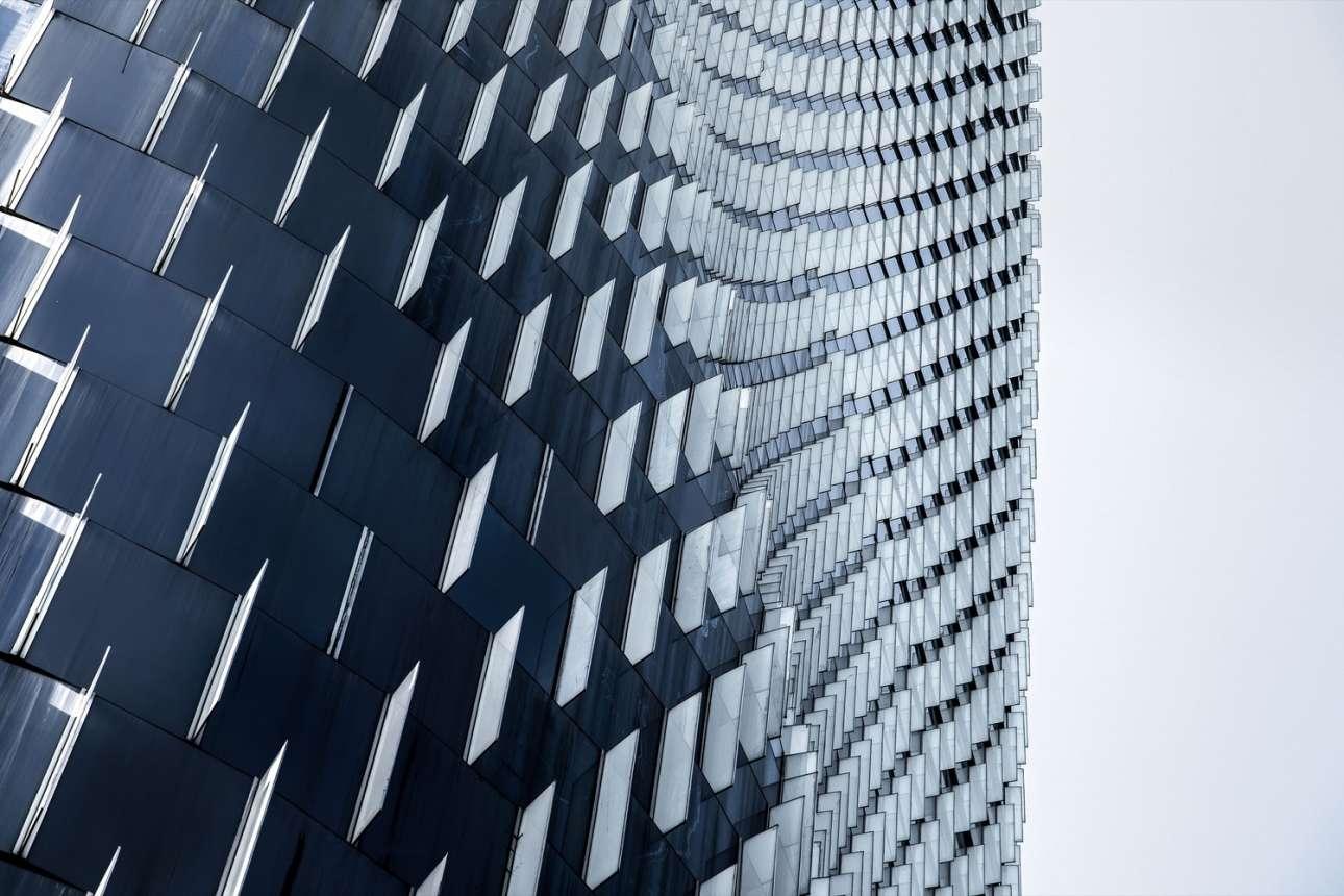 «Ningbo Bank of China», ένας από τους υψηλότερους ουρανοξύστες σε σχέδια των «Skidmore, Owings & Merrill LLP», στην πόλη Νίγκμπο της Κίνας