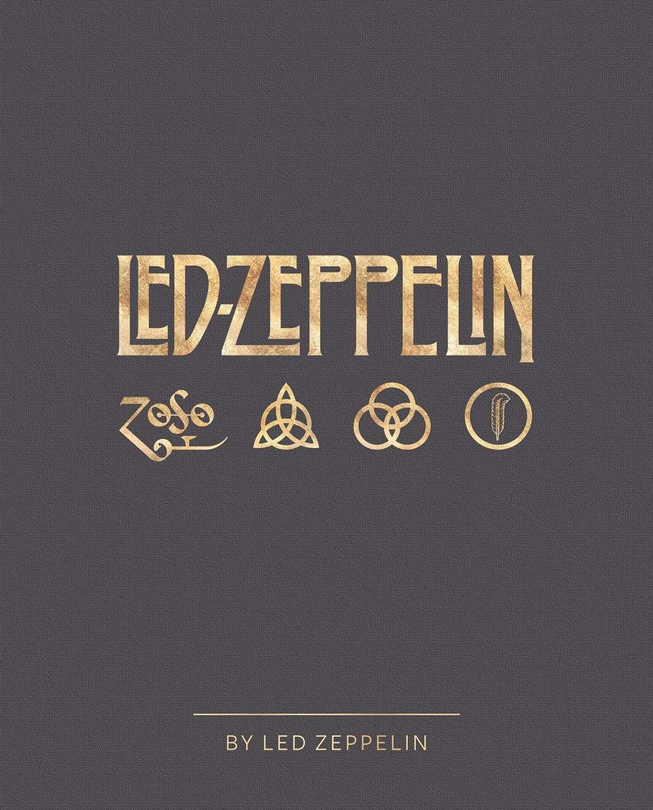 Το εξώφυλλο του βιβλίου «Led Zeppelin by Led Zeppelin» των εκδόσεων Reel Art Press, στο οποίο καταγράφεται η πενηντάχρονη ιστορία του συγκροτήματος σε 400 σελίδες