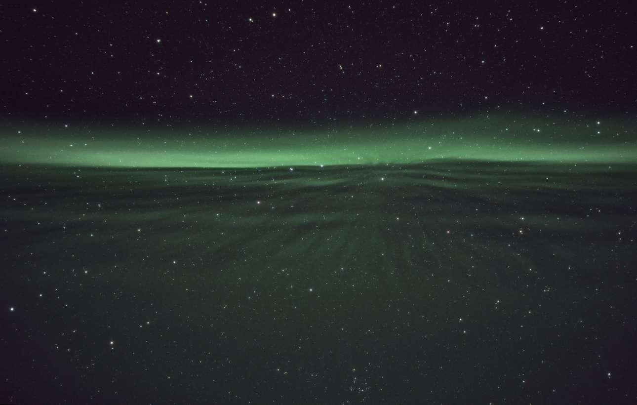 Βραβείο στην κατηγορία «Σέλας». «Τρέχοντας στη λωρίδα Σέλας»: μία μαγευτική φωτογραφία τραβηγμένη στο Σίρκα της Φινλανδίας