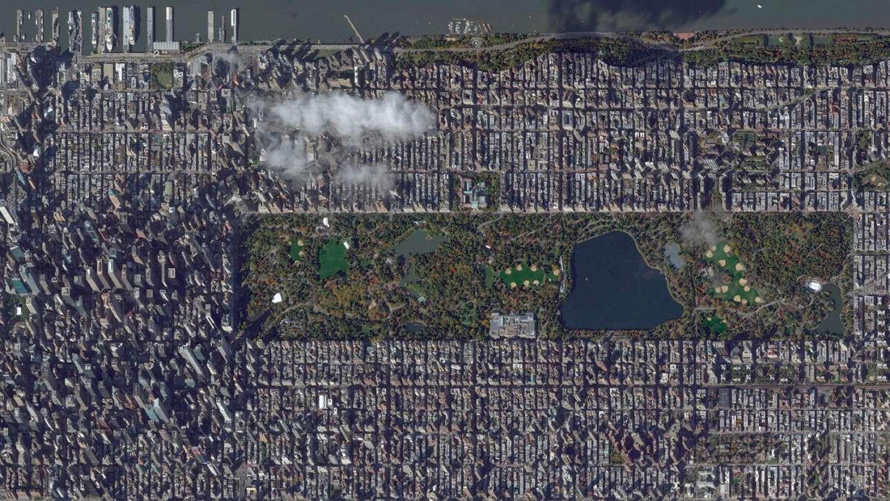 Παραλληλόγραμμο πρασίνου: το φημισμένο νεοϋορκέζικο Σέντραλ Παρκ ξεφυτρώνει μέσα στο τσιμεντένιο δάσος
