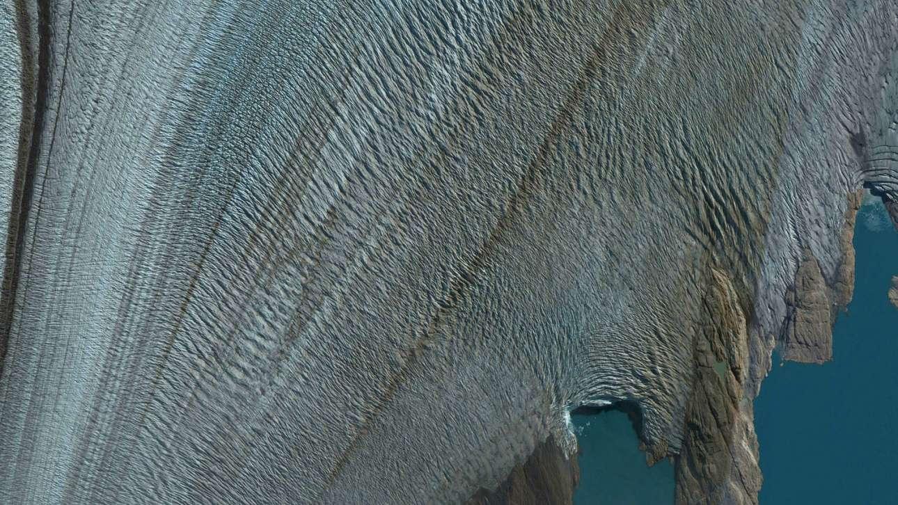 Τμήμα του παγετώνα Ουψάλα, στην Παταγονία της Αργεντινής