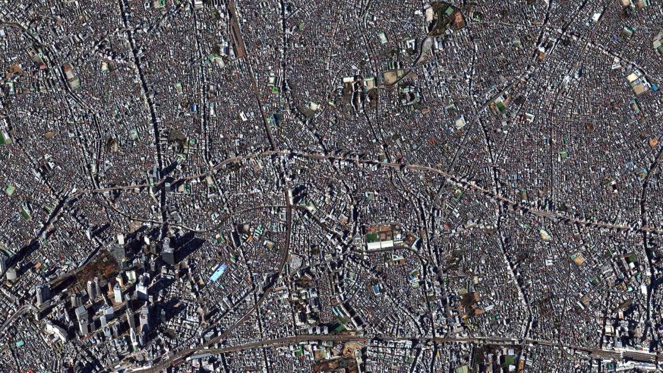 Οι γειτονιές Σιντζούκου και Νακάνο του πυκνοδομημένου και αχανούς Τόκιο