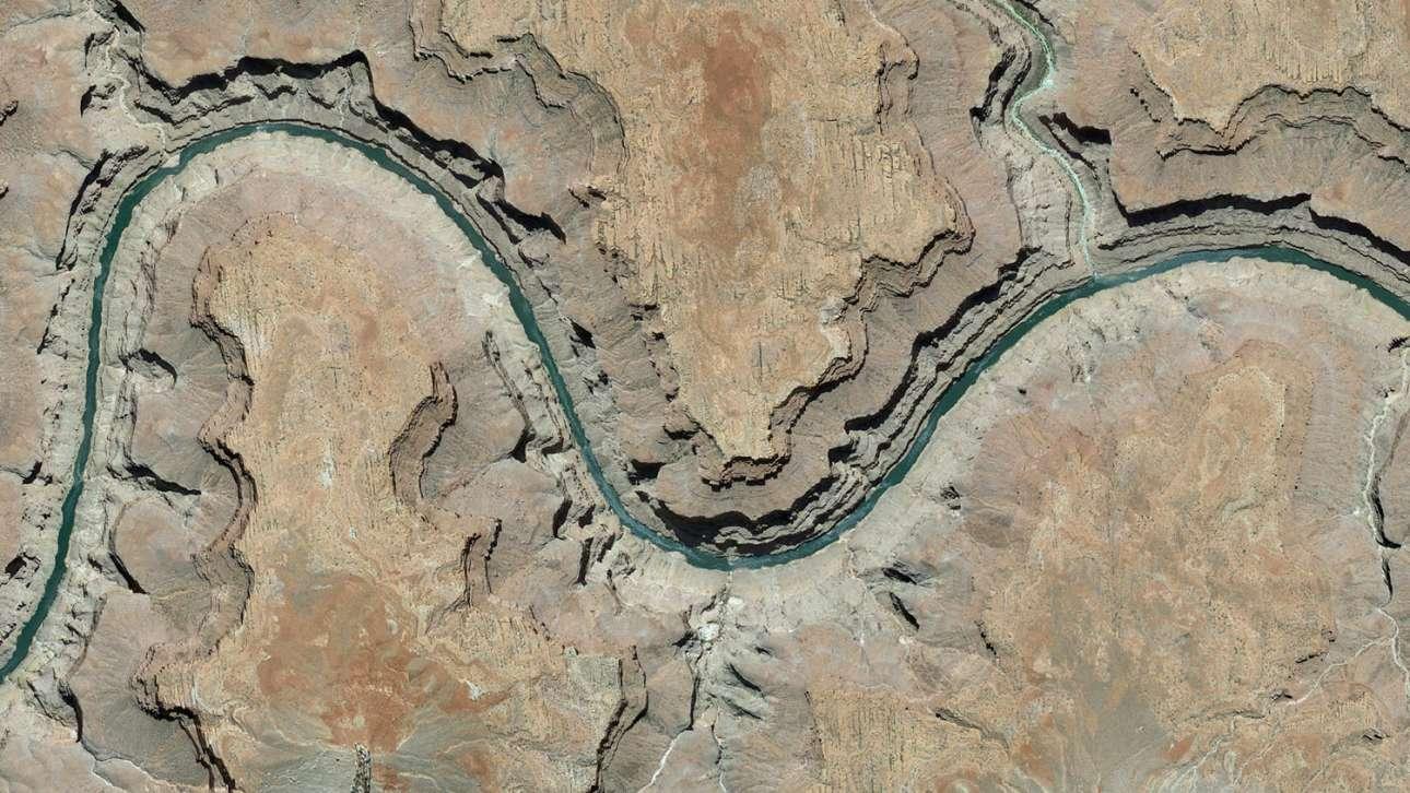 Το διάσημο Γκραντ Κάνιον στην Αριζόνα των ΗΠΑ
