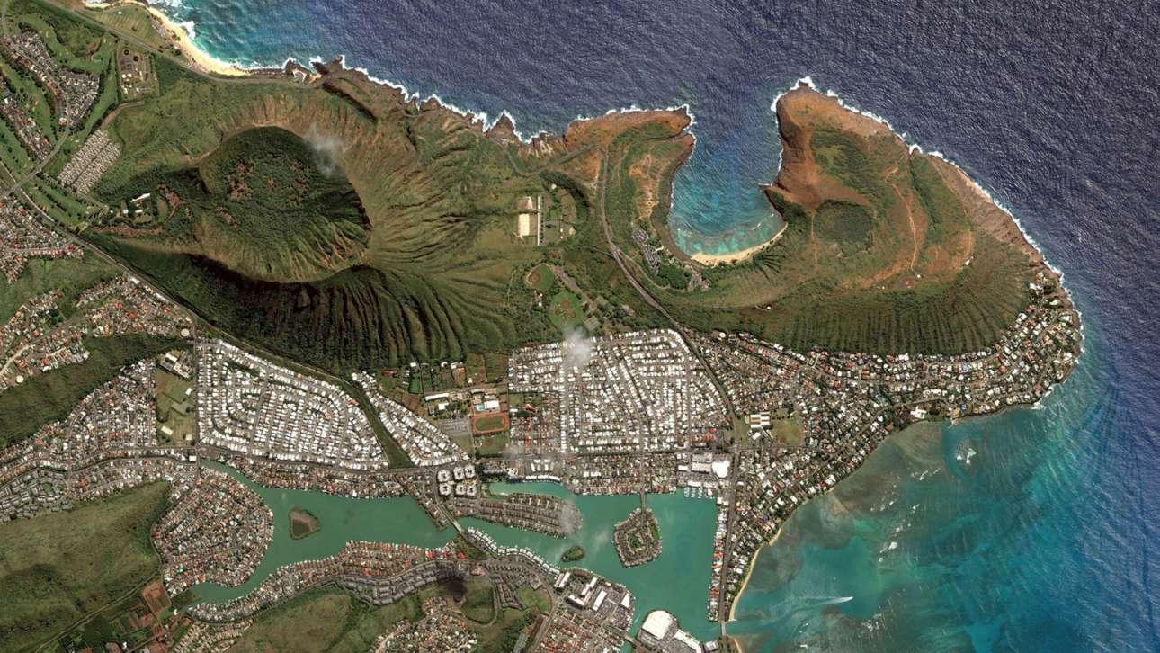 Μία ειδυλλιακή γειτονιά στη Χονολουλού της Χαβάης