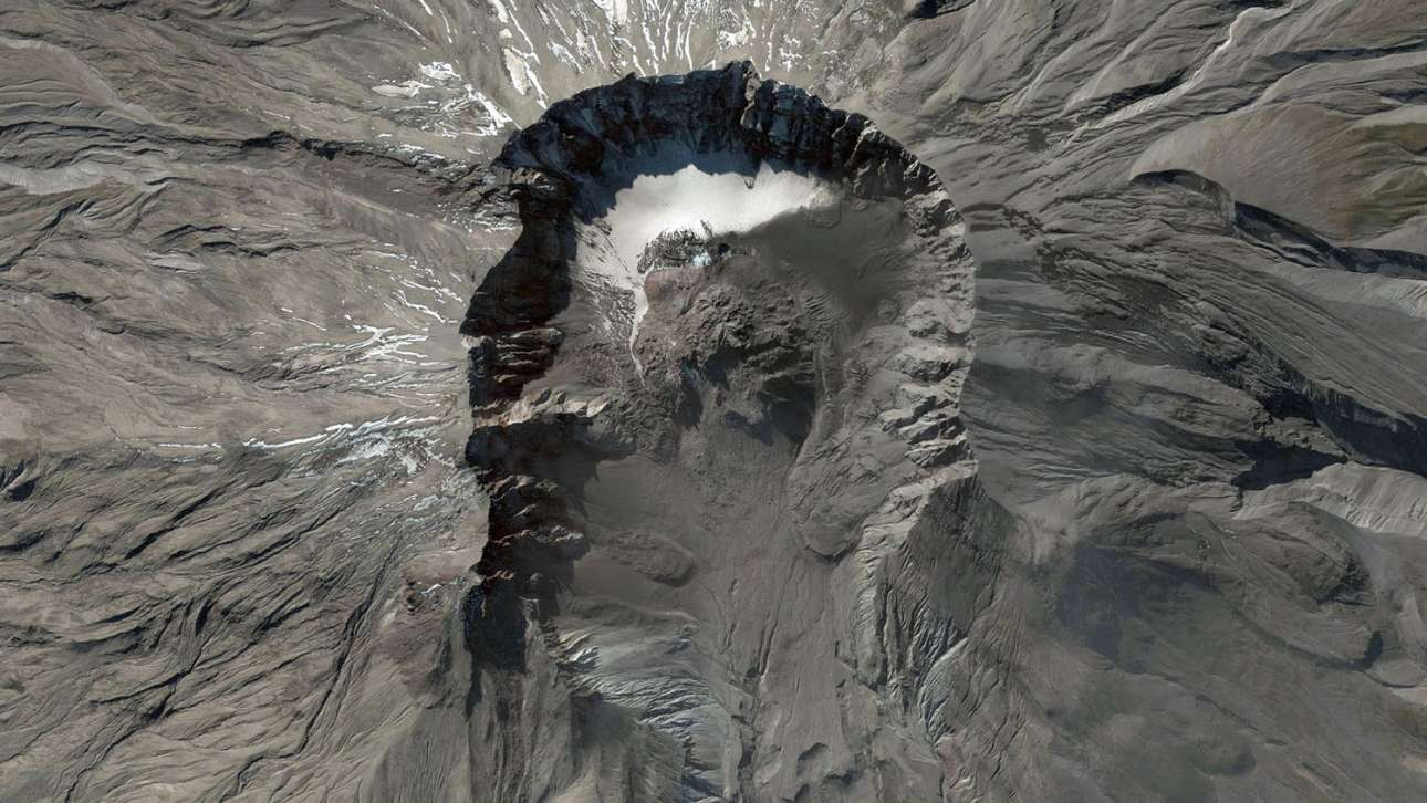 Ο κρατήρας του όρους Σεντ Χέλενς στην Πολιτεία Ουάσινγκτον των ΗΠΑ