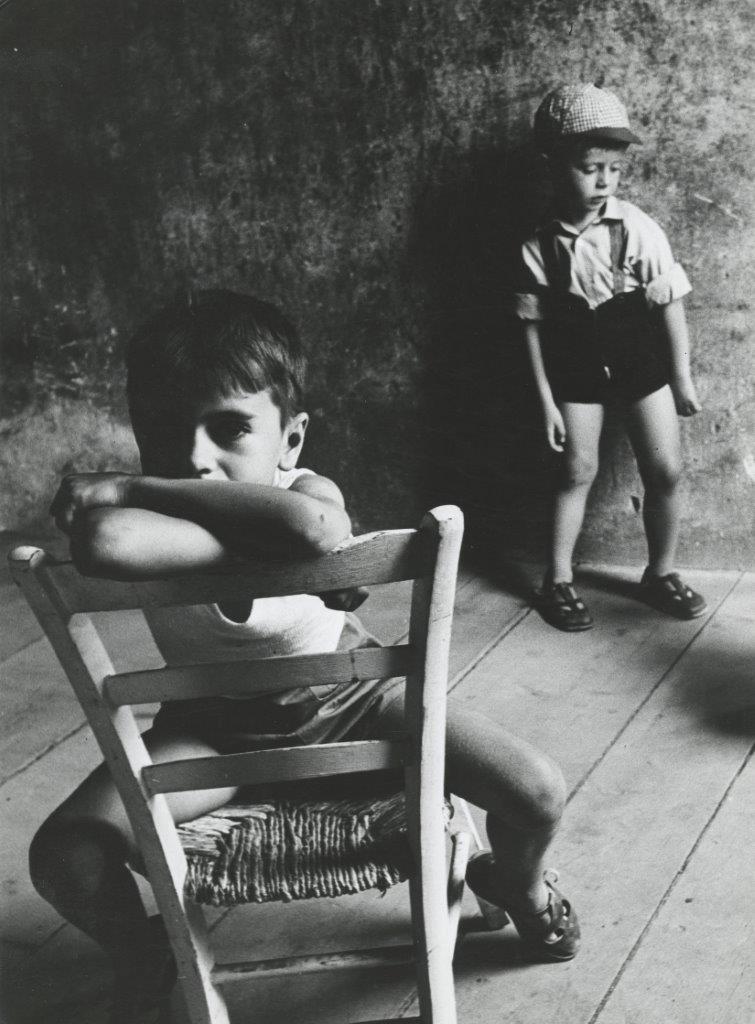 Τα δύο αδέλφια, Πάολο και Φερνάντο Γκάβι, το 1958