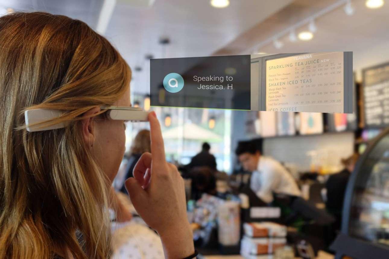Η Aira είναι μία συνδρομητική υπηρεσία για τυφλούς, η οποία επιτρέπει στους χρήστες να ανεβάζουν βίντεο από τον περιβάλλοντα χώρο τους χρησιμοποιώντας κινητό ή ειδικά γυαλιά και ένας υπάλληλος της υπηρεσίας να τους περιγράφει και να τους καθοδηγεί