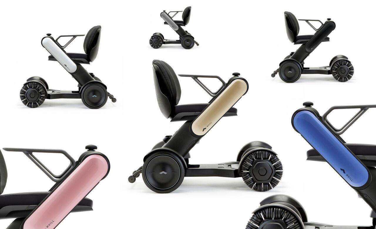 Καινοτόμα ηλεκτρική αναπηρική καρέκλα με ειδικούς τροχούς που επιτρέπει την μετακίνηση σε χώρους με πολλά εμπόδια
