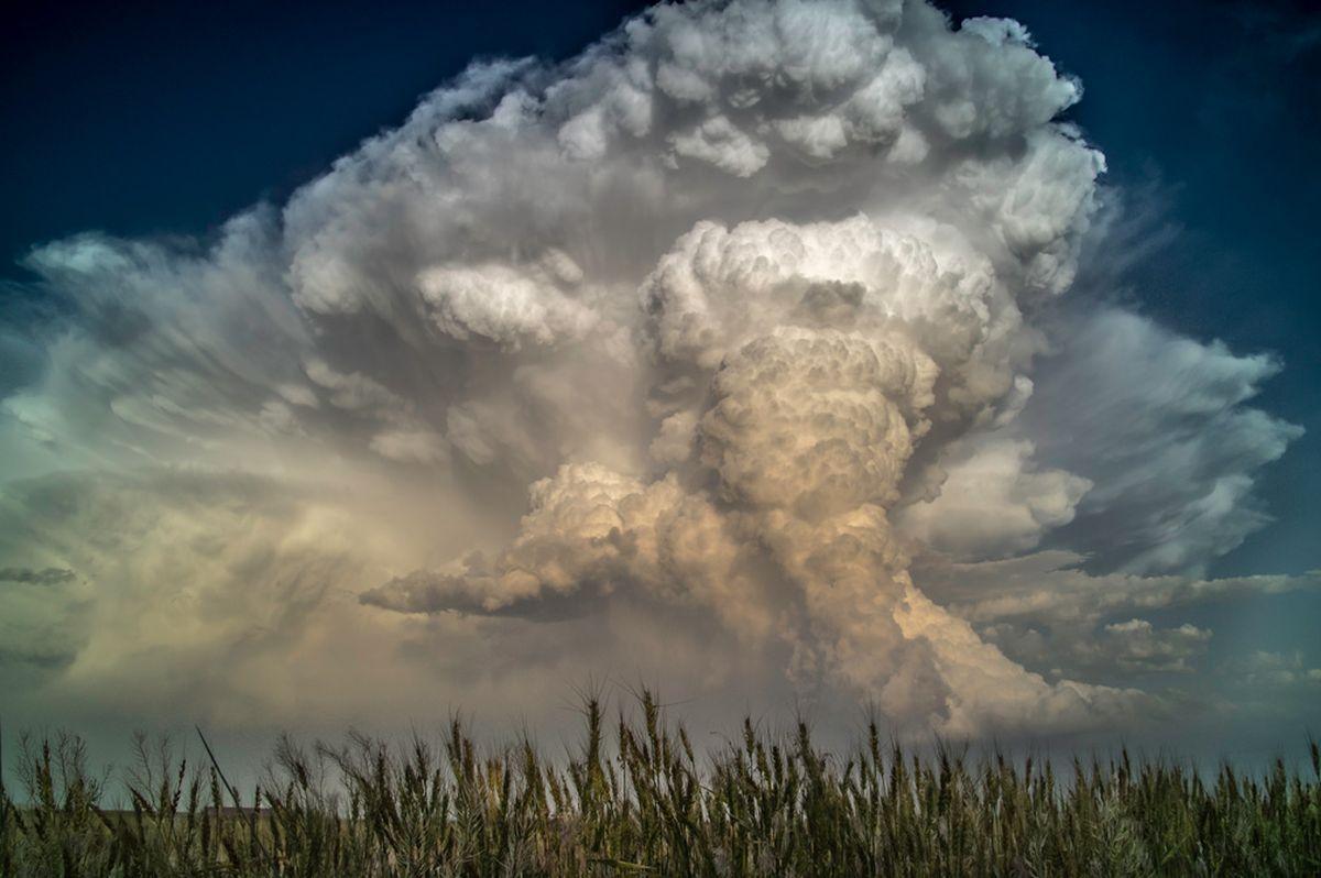 Η εικόνα της Κάθριν Πάρεντ αναδείχτηκε στην αγαπημένη φωτογραφία κοινού, καθώς αποφάσισε να κάνει... διακοπές θύελλας, κυνηγώντας τα συγκεκριμένα οπτικά εφέ στις ΗΠΑ