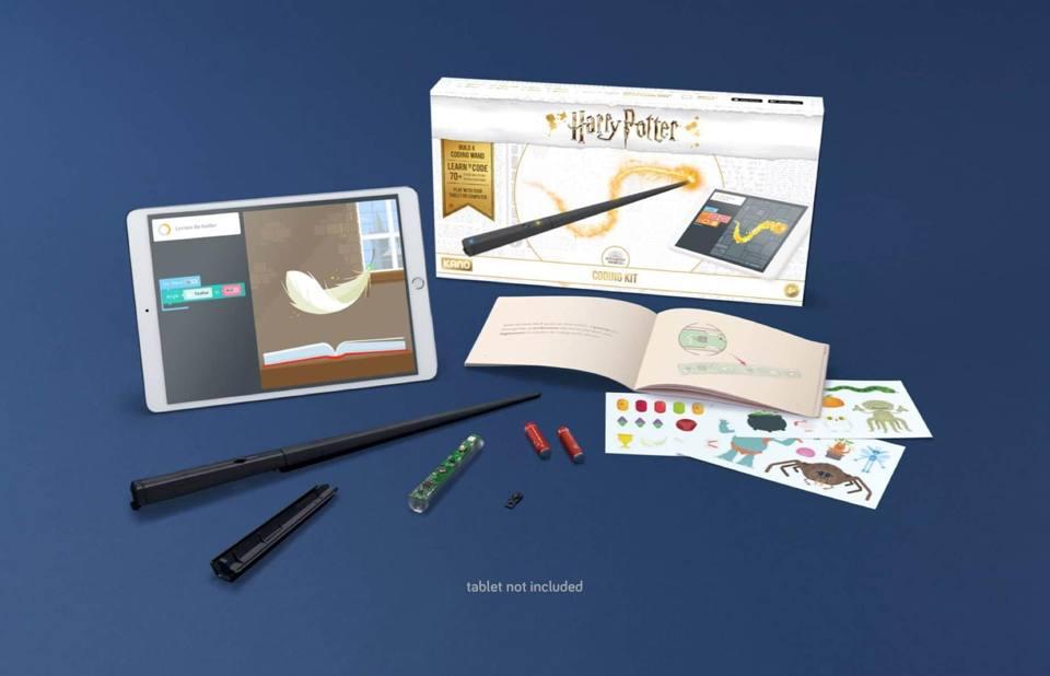 Αντλώντας έμπνευση από τον μαγικό σύμπαν του Χάρι Πότερ, το μαγικό ραβδί της εταιρείας Kano μαθαίνει στα παιδιά κώδικα και προγραμματισμό