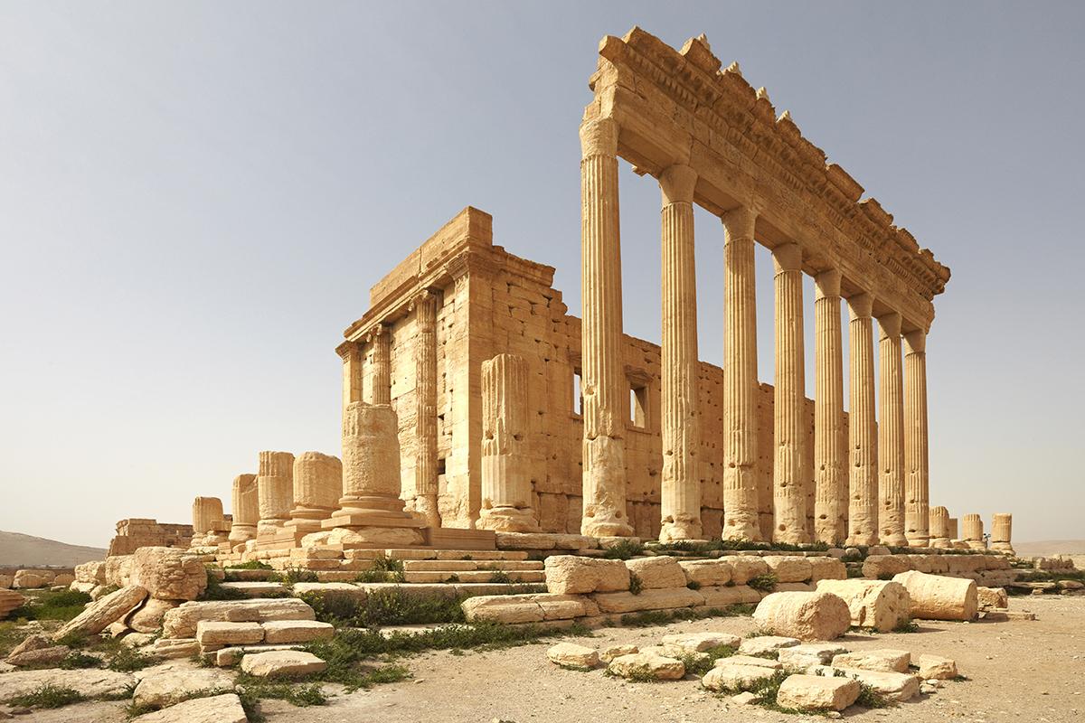 Ο εκπληκτικός Ναός του Μπελ στην αρχαία Παλμύρα στη Συρία, πριν καταστραφεί από τους τζιχαντιστές