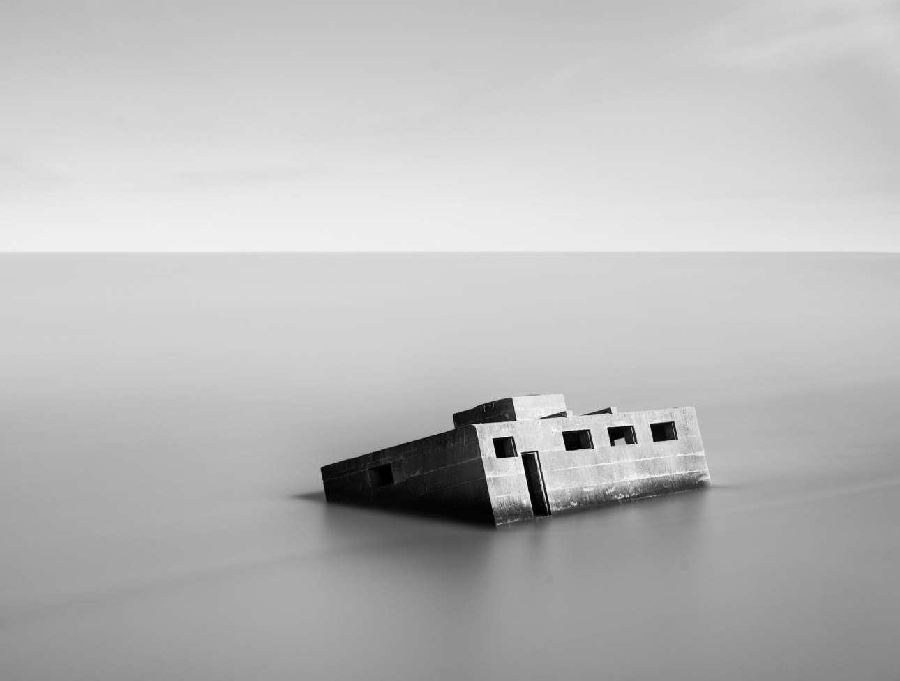Ενα ξεχασμένο καταφύγιο - απομεινάρι του Β΄Παγκοσμίου Πολέμου, στο νησί Σέπεϊ της Βρετανίας