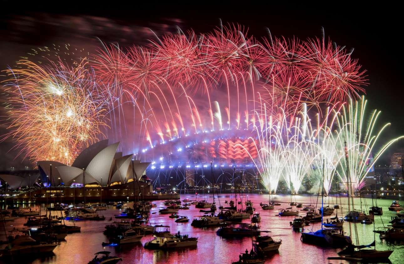 Εντυπωσιακό ποδαρικό στο 2019. Πού αλλού; Στο Σίδνεϊ της Αυστραλίας