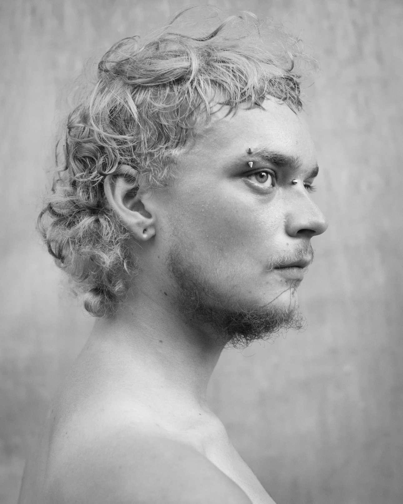 Ασπρόμαυρο πορτρέτο του 19χρονου Ράνγκο Εστρέλα, στη Νέα Ορλεάνη