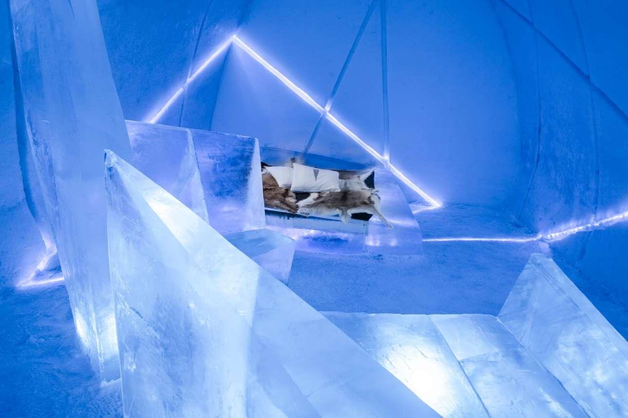 «Διαφορική επέκταση» των Αντόνιο και Κάρλος Καμάρα, ένα δωμάτιο πραγματικό έργο σύγχρονης τέχνης