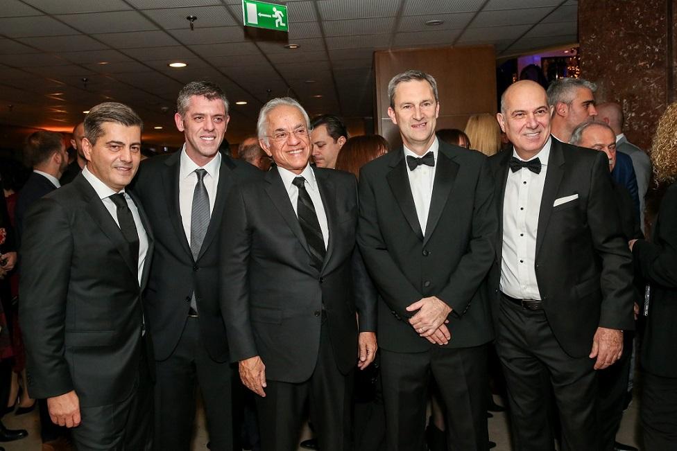 Οδυσσέας Χριστοφόρου, Χρήστος Κοπελούζος, Δημήτρης Κοπελούζος, Ντάμιαν Κόουπ, Σπύρος Φωκάς