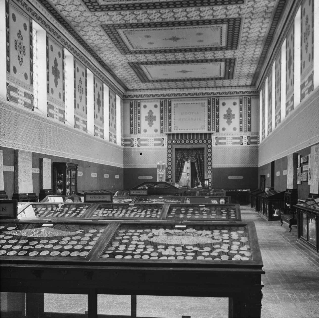 Αίθουσα του Εθνικού Αρχαιολογικού Μουσείου αφιερωμένη στη Μυκηναϊκή τέχνη