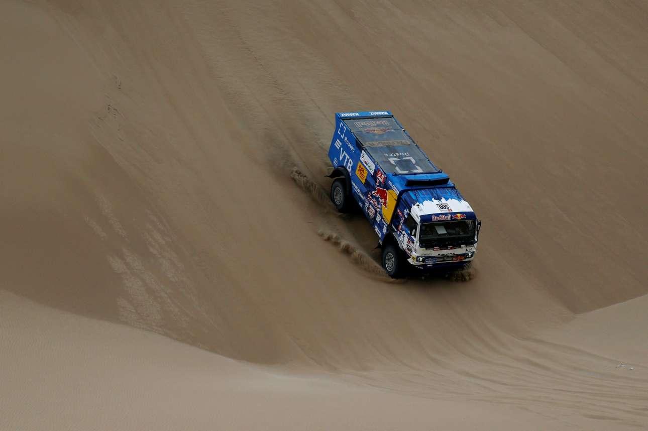 Φορτηγά συμμετέχουν επίσης στο Ράλι Ντακάρ