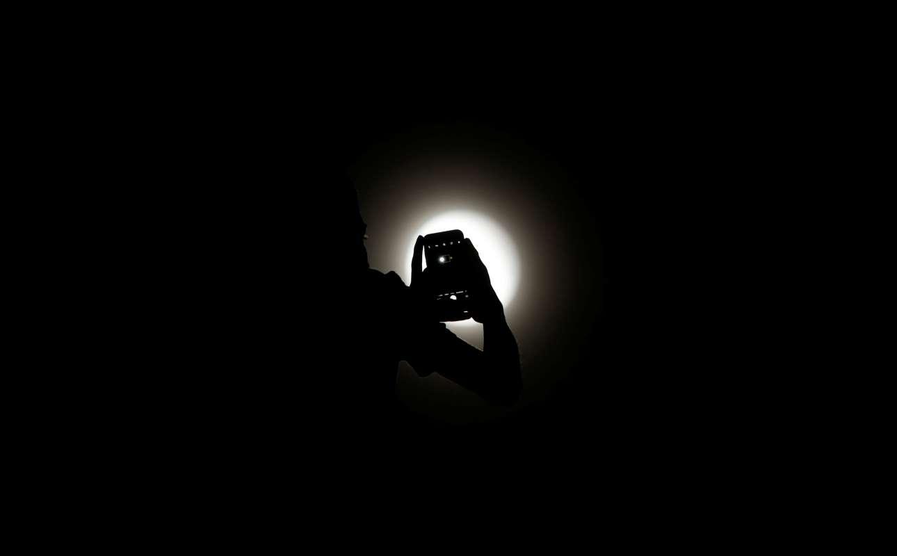 Ενας άνδρας απαθανατίζει  το σπάνιο φαινόμενο στη Βραζιλία