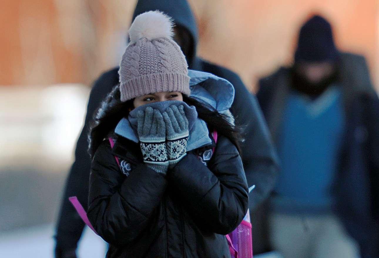 «Να περιμένετε ιδιαίτερα τσουχτερό κρύο» προειδοποίησε η Εθνική Μετεωρολογική Υπηρεσία και οι πολίτες της Μινεσότα έβαλαν τα πια ζεστά τους ρούχα