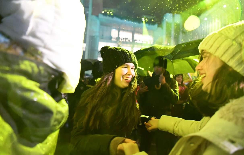 Χιλιάδες πολίτες αντάλλαξαν ευχές για τον νέο χρόνο στους χώρους του Ιδρύματος Σταύρος Νιάρχος
