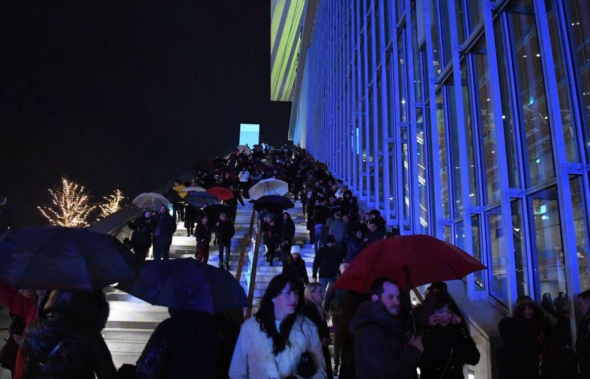 Η είσοδος στις πρωτοχρονιάτικες εκδηλώσεις του Κέντρου Πολιτισμού ήταν ελεύθερη