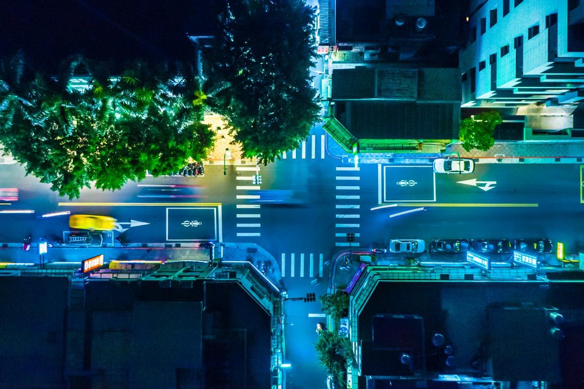 Η ζωή τη νύχτα σε σταυροδρόμι της Ταϊπέι