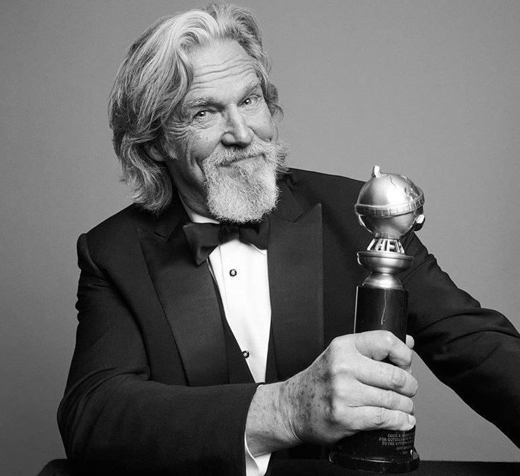Ο Τζεφ Μπρίτζες ο οποίος τιμήθηκε με το βραβείο Σεσίλ Μπ. Ντεμίλ για την προσφορά του στον κινηματογράφο
