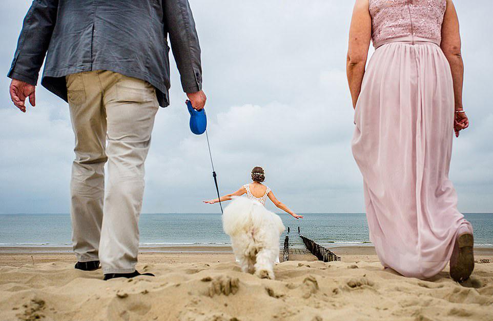 Ωρα να βγάλουμε τη νύφη βόλτα... μία εκπληκτική οφθαλμαπάτη