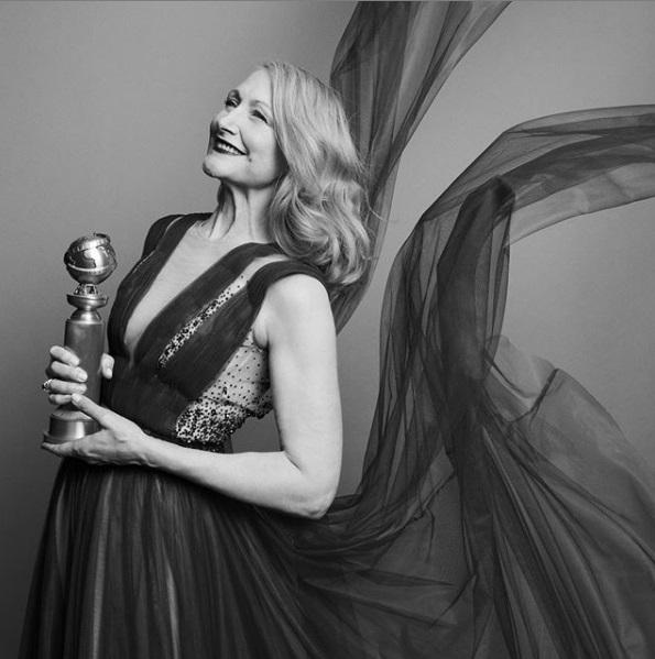 H Πατρίσια Κλάρκσον με τη Χρυσή Σφαίρα β' γυναικείου ρόλου σε τηλεοπτική μίνι σειρά το «Sharp Objects»