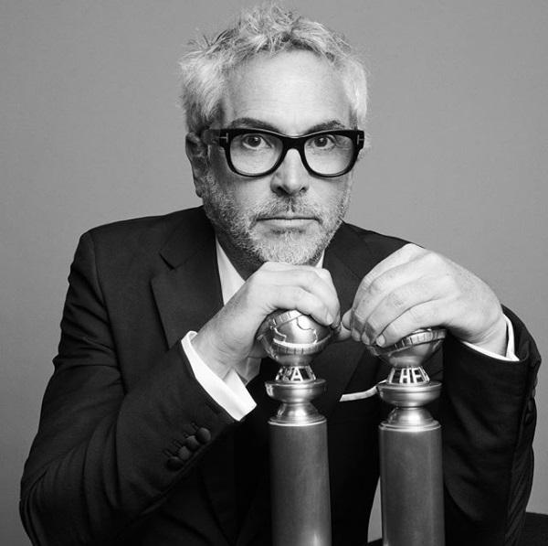 Ο Αλφόνσο Κουαρόν με δύο Χρυσές Σφαίρες για το «Roma»: για τη Σκηνοθεσία και την Καλύτερη Ξενόγλωσση Ταινία