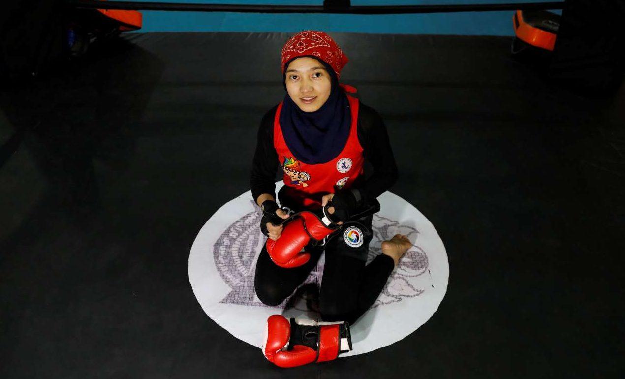 Καβσάρ Σερζάντ, ετών 17: «Οι Αφγανές έχουν να επιδείξουν πολλά κατορθώματα στον αθλητισμό και είμαι αισιόδοξη ότι οι Ταλιμπάν θα αποδεχθούν αυτά τα επιτεύγματα»