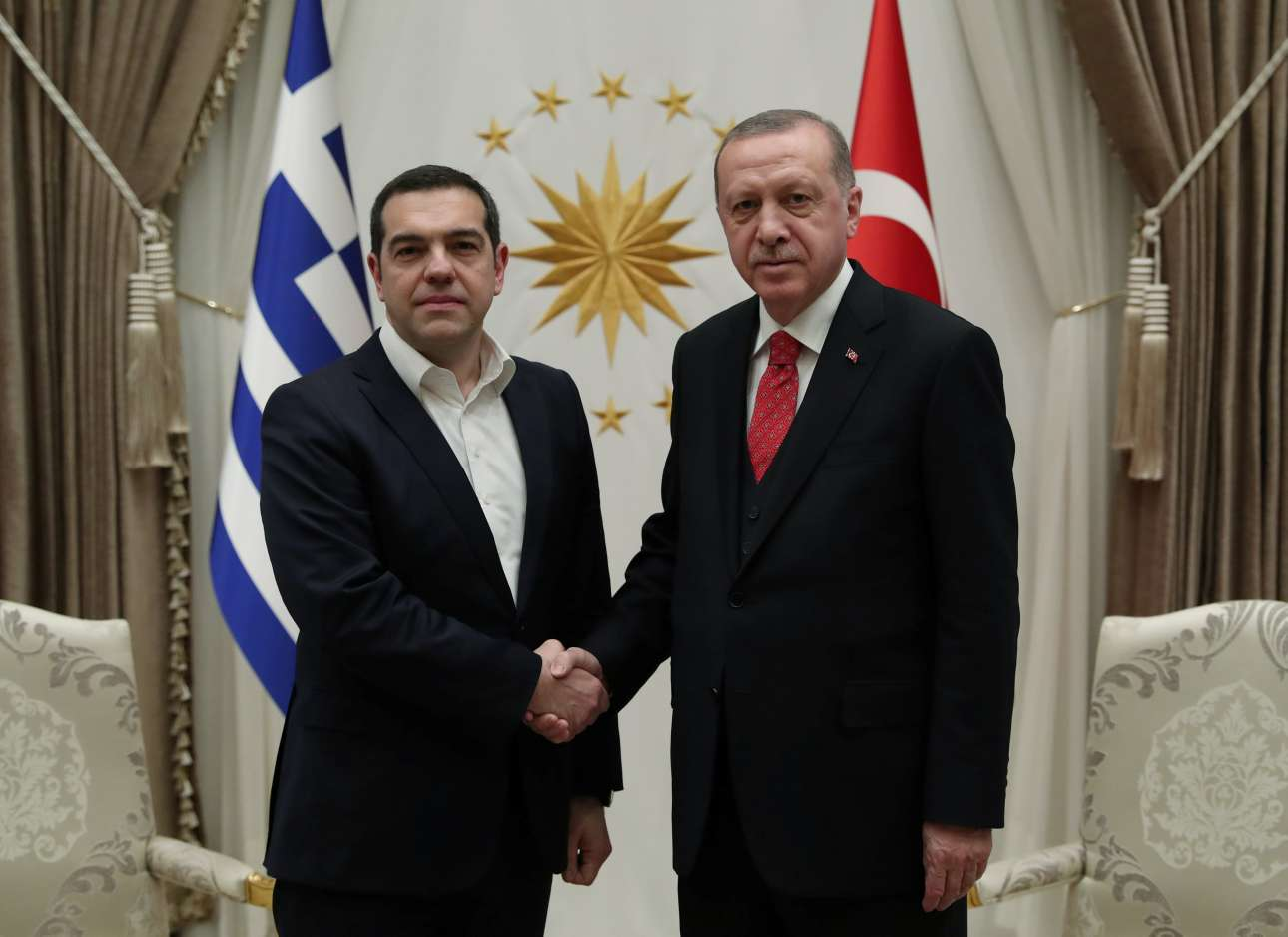 Ιστορική φωτογραφία: η πρώτη επίσκεψη Πρωθυπουργού της Ελλάδας στην τουρκική πρωτεύουσα, εδώ και 11 χρόνια