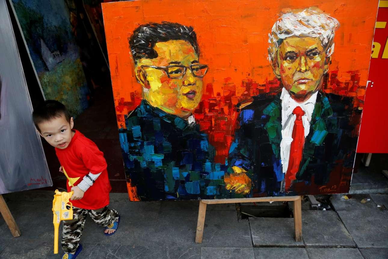 Και άλλο ένα έργο τέχνης εμπνευσμένο από τη συνάντηση των δύο ηγετών