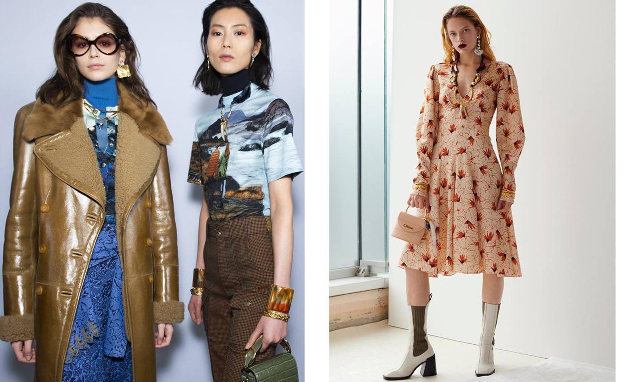 Σικ, καθημερινά ρούχα που κάθε γυναίκα θα ήθελε στη γκαρνταρόμπα της παρουσιάστηκαν στην επίδειξη της Chloé