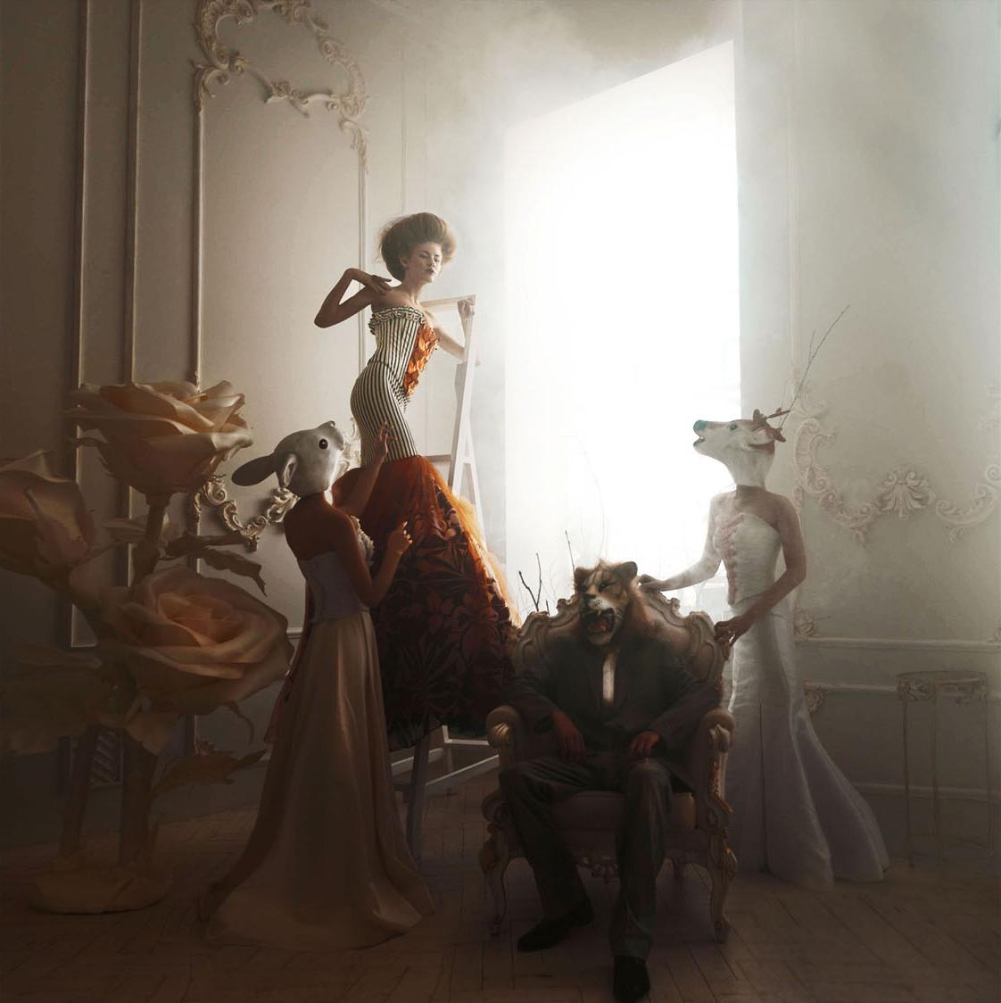 «Η Αλίκη στη Χώρα των Θαυμάτων», κατηγορία Επεξεργασμένη Εικόνα. Η φωτογράφος προσεγγίζει με τον δικό της ξεχωριστό τρόπο το γνωστό παραμύθι