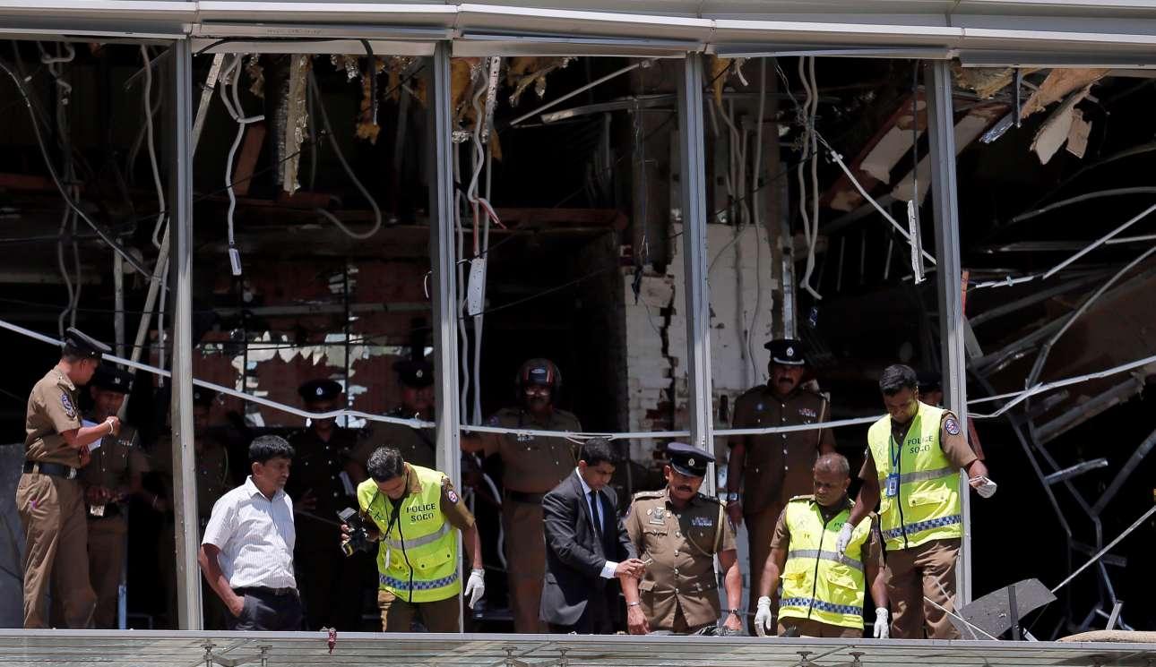 Το ξενοδοχείο Shangri-La στο Κολόμπο, την πρωτεύουσα της χώρας, έγινε στόχος της επίθεσης