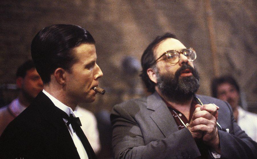 Ο Κόπολα με τον Τομ Γουέιτς στο «Cotton Club» (1984)