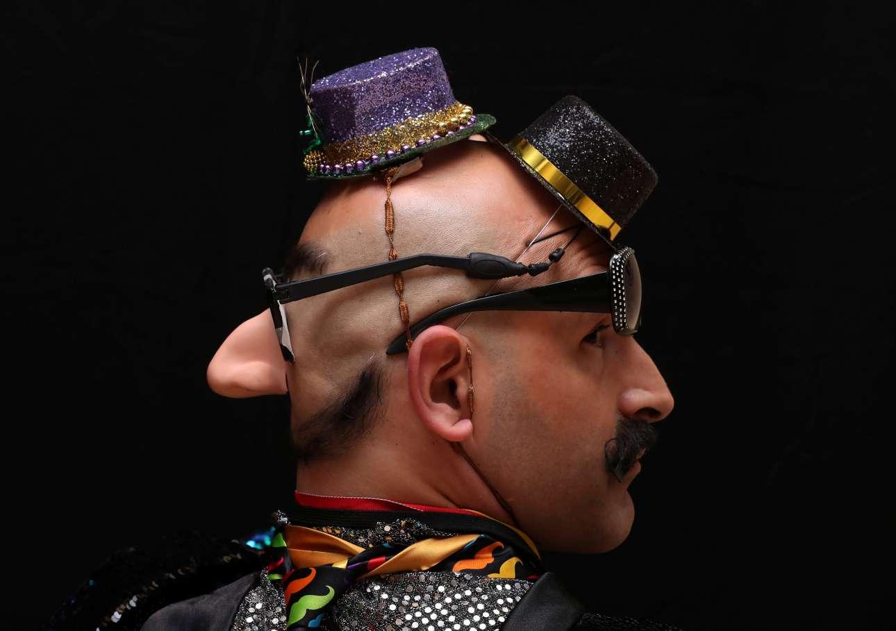 Μπρος μουστάκι... και πίσω μούσι. Μερικοί επιστρατεύουν όλη τη φαντασία τους για να ξεχωρίσουν