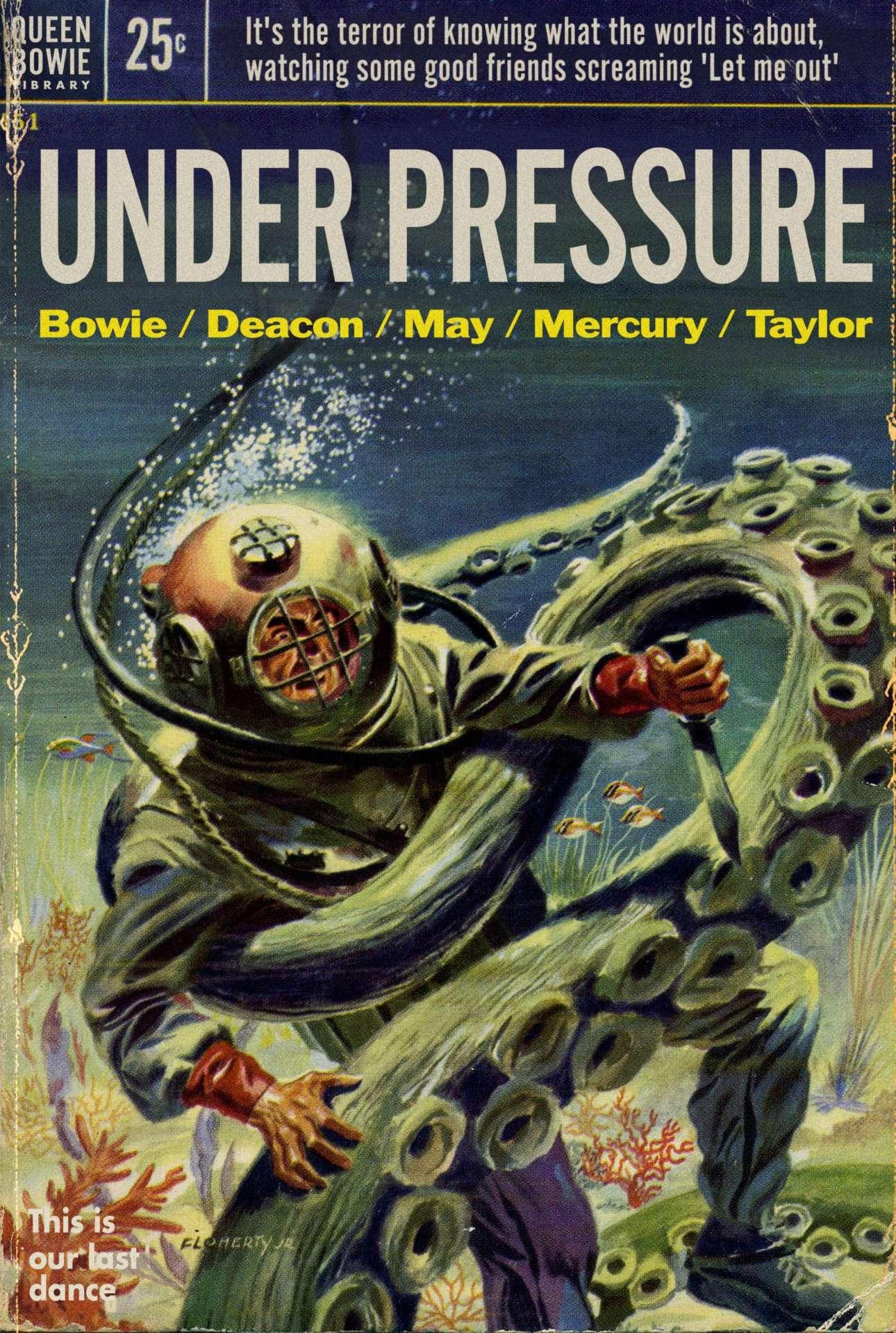 Κάτω από την πίεση ενός πελώριου πλοκαμιού: τo Under Pressure του Μπάουι και των Queen