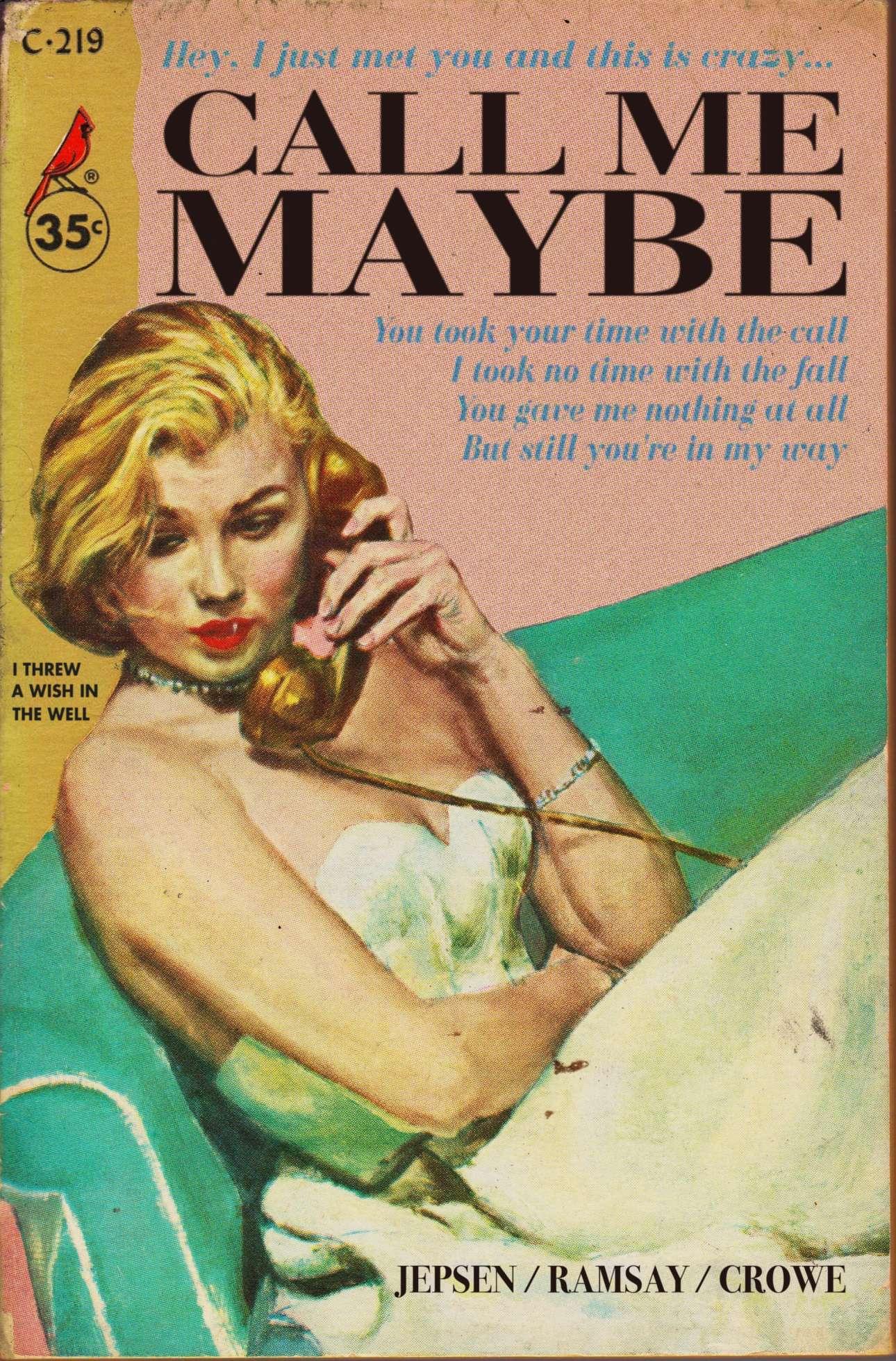 Ενα πιο σύγχρονο τραγούδι με νοσταλγικό εξώφυλλο: το Call Me Maybe της Κάρλι Ρέι Τζέπσεν