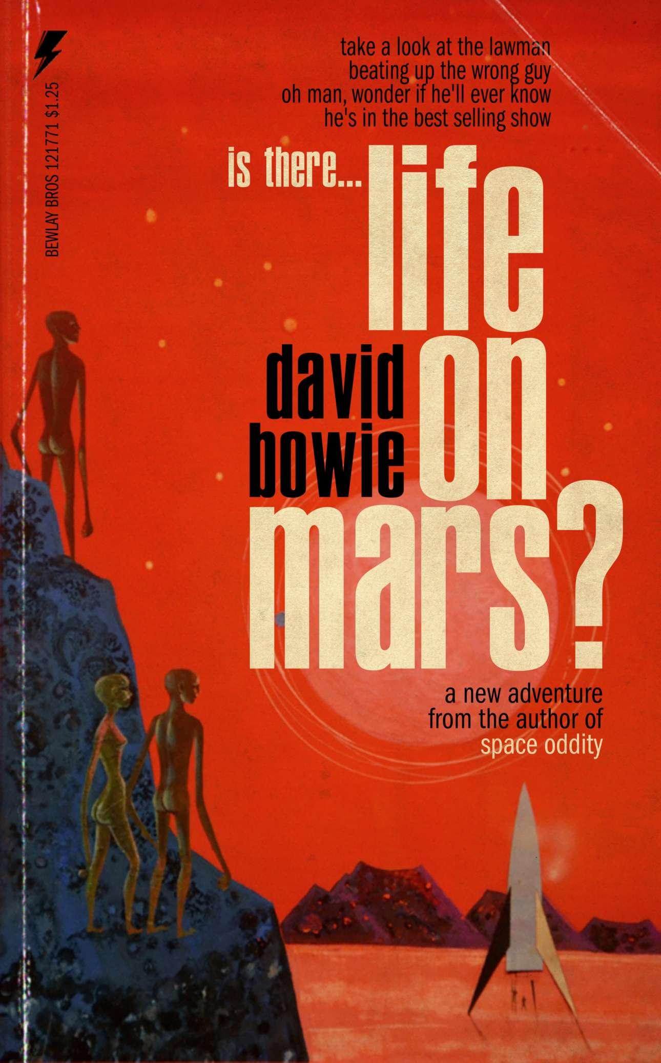 Εξωγήινοι και πύραυλοι για το «Life on Mars?» του David Bowie