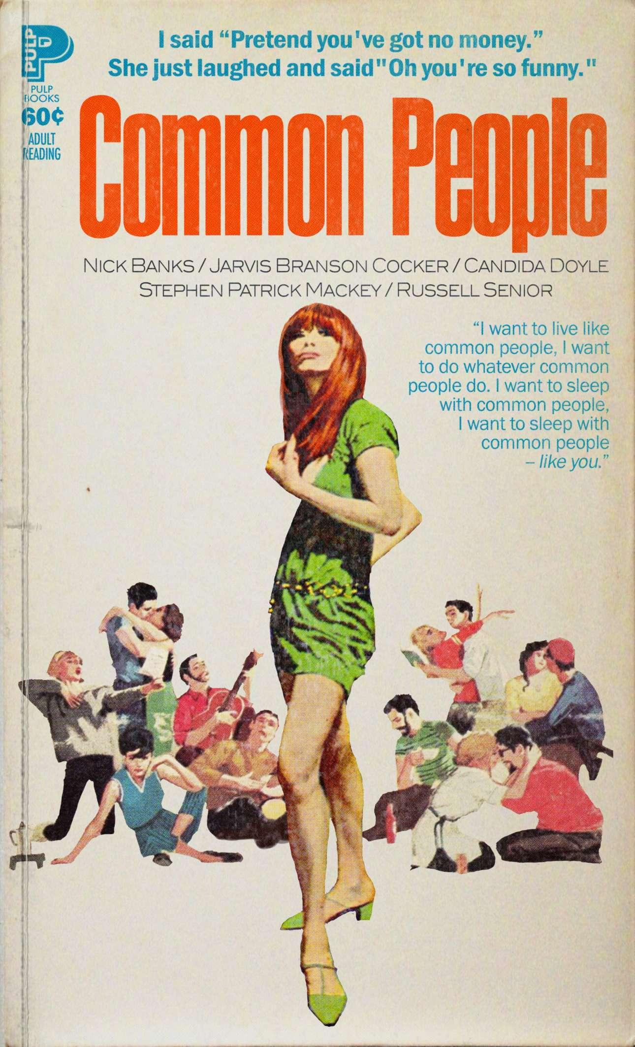 Το εμβληματικό τραγούδι «Common People» των Pulp, με ένα εξώφυλλο που του ταιριάζει γάντι