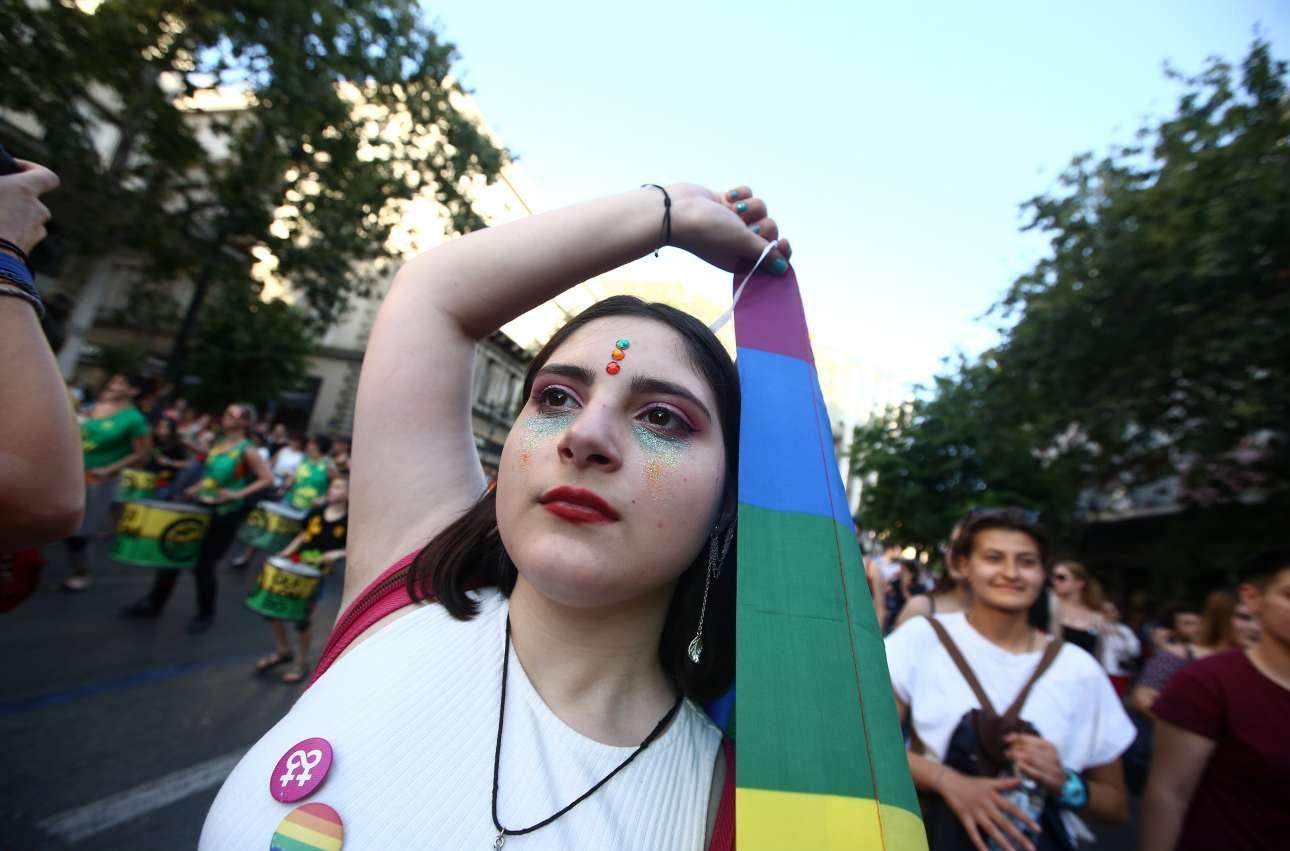 Η παρέλαση στους δρόμους της πόλης ήταν, όπως πάντα, πολύχρωμη